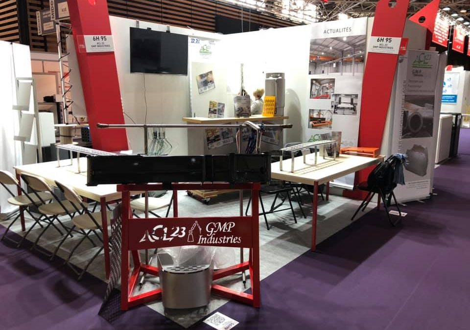GMP présent au salon Global Industries de Lyon