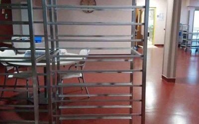 Fabrication de chariot métal pour EPHAD de Dun Le Palestel