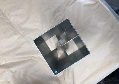 Embase poteau métallique 01