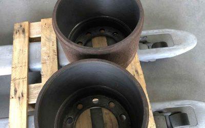 Usinage de tambour de frein de camion
